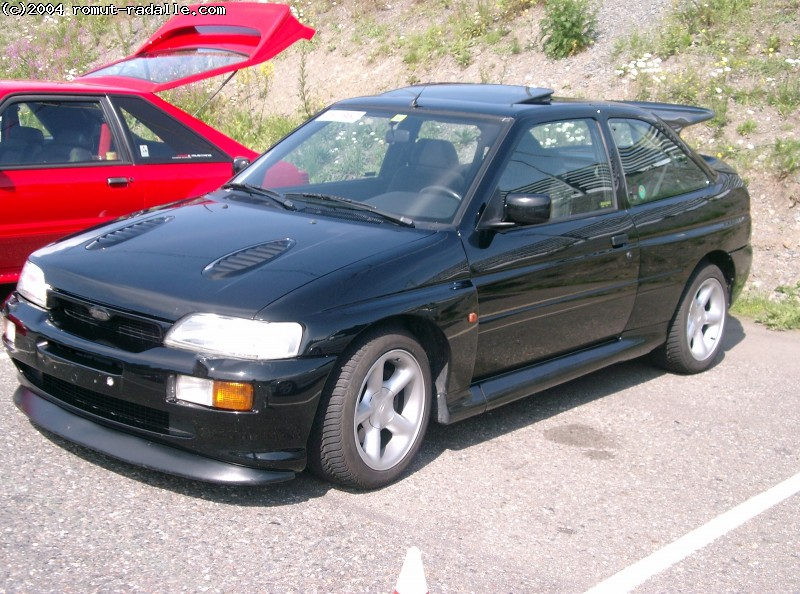 Ford Escort RS Cosworth, musta