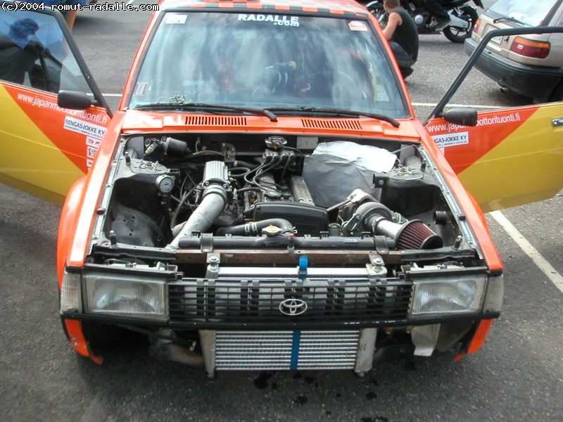 DX Corolla 4AGE Turbo. 4A-GTE